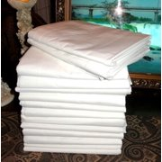 """1 Large 66x104"""" Bright White Massage Table Flat Draw Sheet Linen Percale by By Atlas Ship from US"""