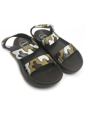 86e01b14262b Product Image Fresko Boy s Toddler Sandals Brown Camo Size 4