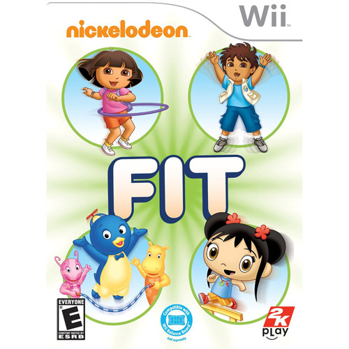 Nickelodeon Fit, 2K, Wii 710425348396
