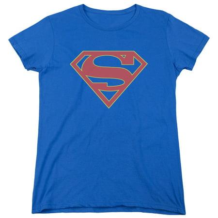 Supergirl Logo Womens Short Sleeve - Supergirl Shirts