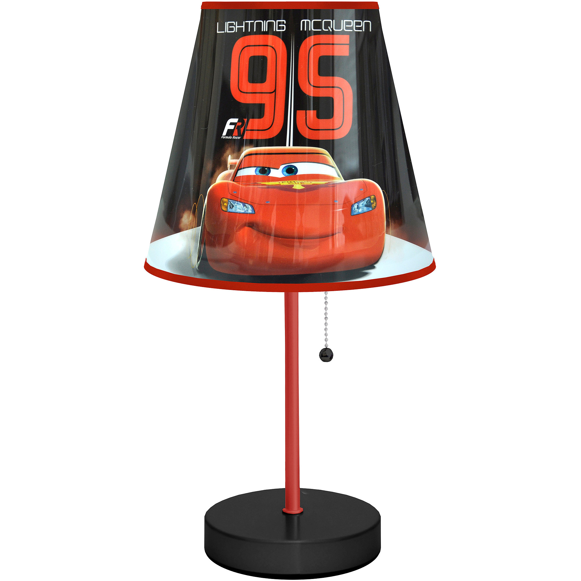 Kids lighting walmart disney cars table lamp black geotapseo Images