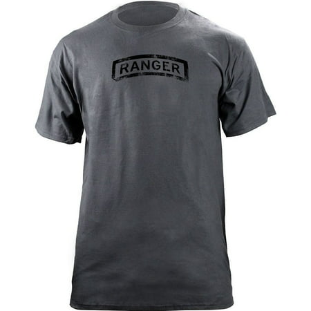 Vintage Army Ranger Tab Badge Veteran T-Shirt