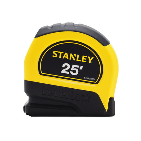 STANLEY STHT30825W 25' LeverLock Tape Measure Bostitch 25' Tape Measure