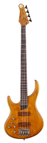 "MTD Kingston ""The Z"" Bass Guitar (4 String, Left Handed, Rosewood) by MTD Basses"