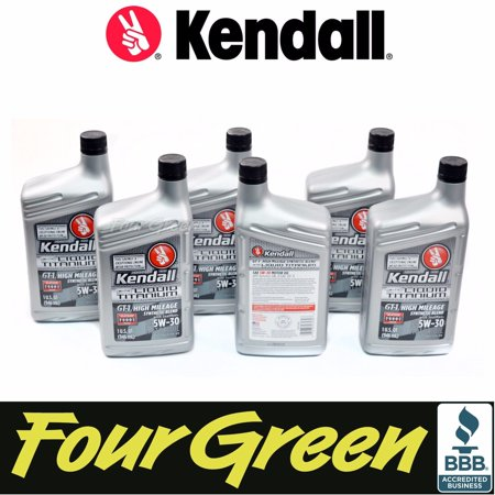 Kendall engine motor oil 5w30 gt 1 synthetic blend high for What does the w stand for in motor oil