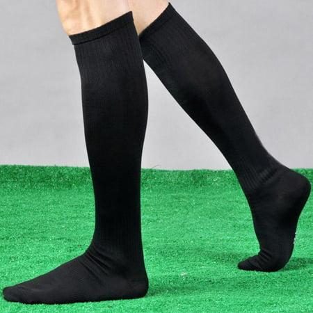 Outtop Men Sport Football Soccer Long Socks Over Knee High Sock Baseball Hockey (Mens Nylon Pro Football Sock)