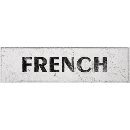 Vintage French Laundry Room Shabby Distressed Sign Wall Decor For Country Farmhouse On