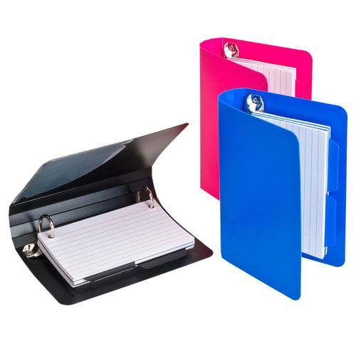 poly index card binder 3x5 walmartcom - 3x5 Index Card Printer