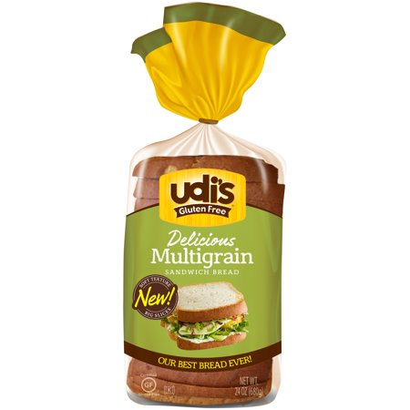 Udi's Gluten Free Multigrain Foodservice Bread, 24 oz., Pack of (Multigrain Bread)