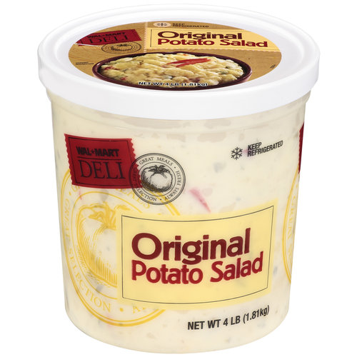 Costco Auto Center >> Walmart Deli Original Potato Salad, 4 Lb - Walmart.com