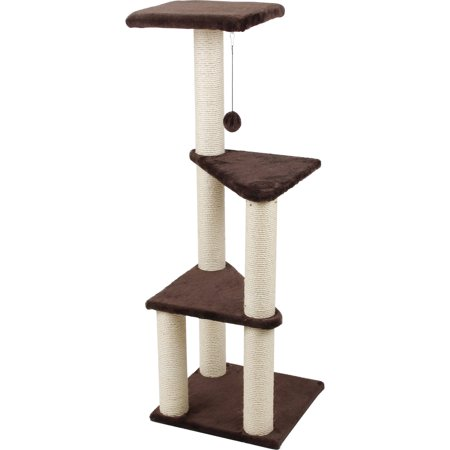 Cat Craft 3 Story Cat Lookout  Brown