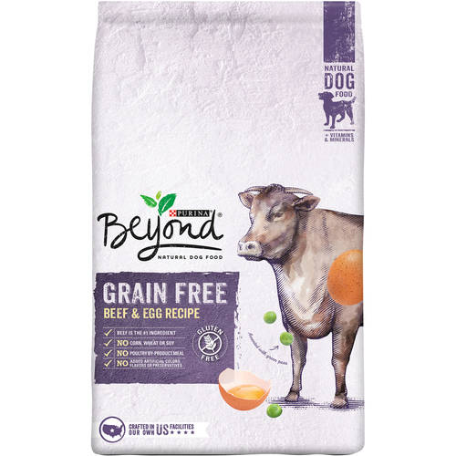 Purina Beyond Grain Free Beef & Egg Recipe Dog Food 3 lb. Bag