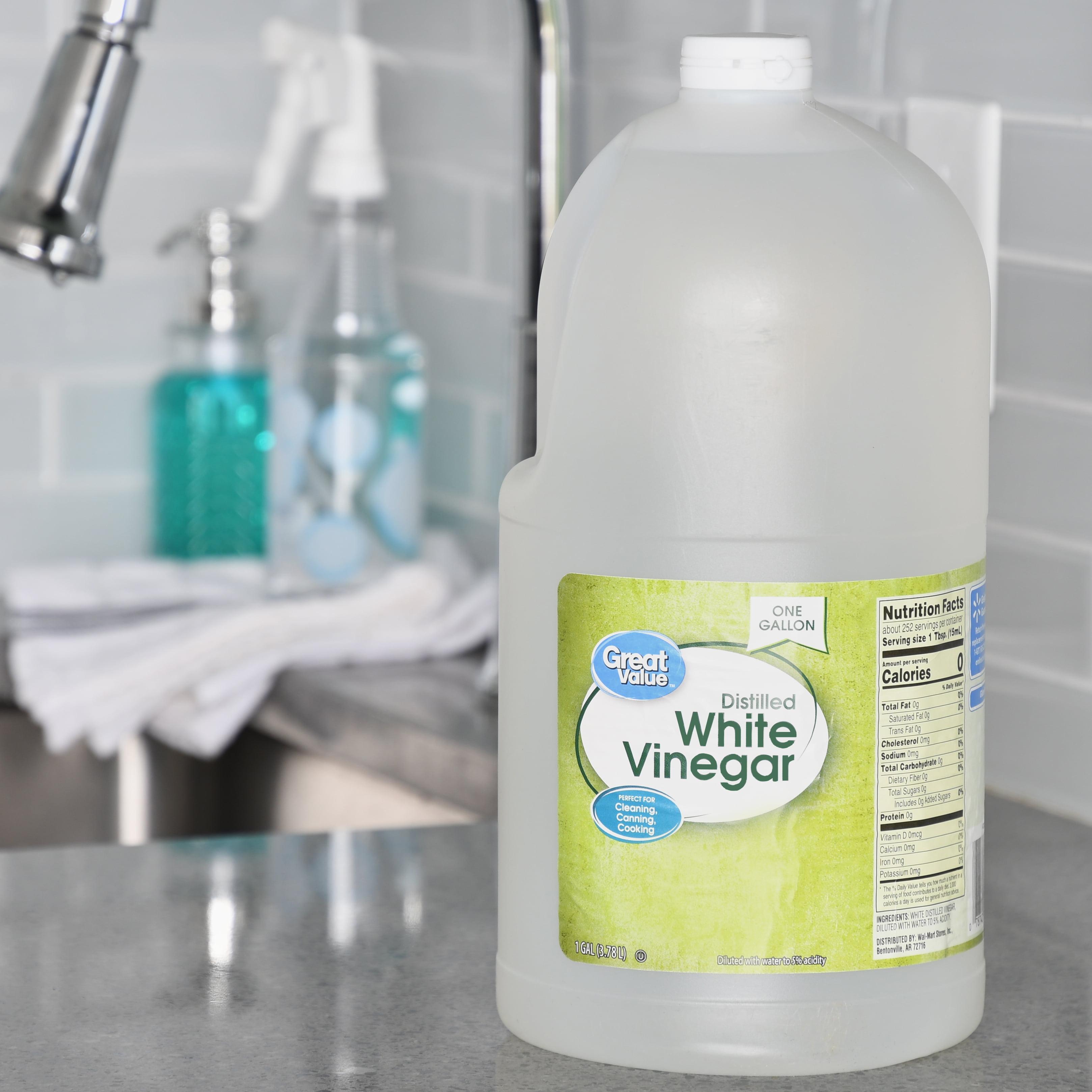 Great Value Distilled White Vinegar, 1 gal - Walmart com