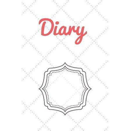 Diary: Vintage Lover's best choice Diary! 120 pages lined Notebook for your ideas inspired by trendy and chique vintage patte