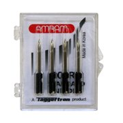 Amram Replacement Tagging Gun Needles for Standard Tagging Guns, Steel with Plastic Base, 4 Pack, 300RP Series