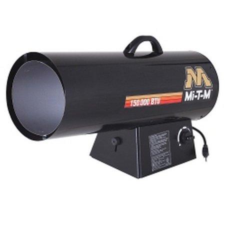 Mi-T-M MTMMH-0150-LM10 Portable Propane Forced Air Heater, 150,0000 BTUs