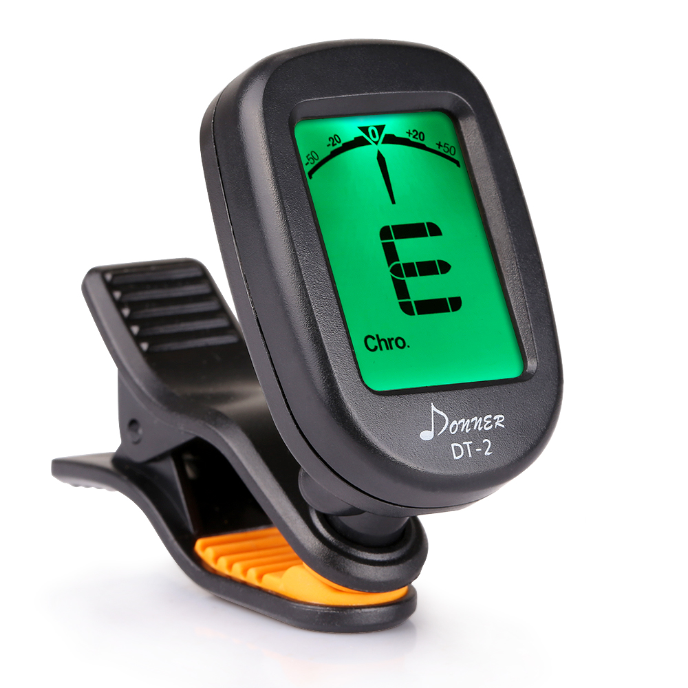 Donner Guitar Tuner Clip on-Accurate Chromatic,Acoustic Guitar Bass Violin Ukulele Tuner... by Donner