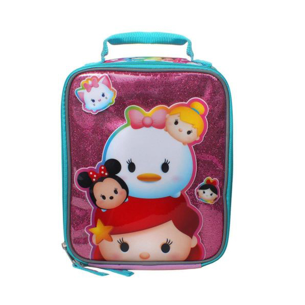 Disney Tsum Tsum Lady Tsum 9.5-inch Vertical Insulated School Lunch Box Bag