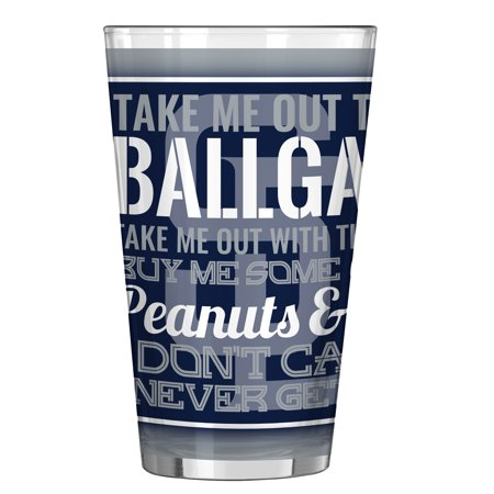 San Diego Padres 16oz. Sublimated Pint Glass - No Size Glasses San Diego
