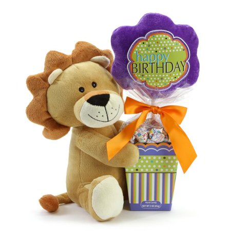 Happy Birthday Lion Candy Gift