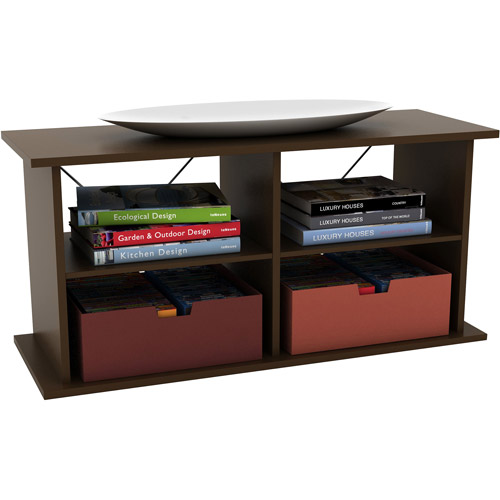 "Atlantic Duo TV and Audio Stand for TVs up to 42"", Mocha"