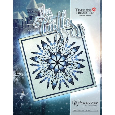 Ice Castles Quilt Pattern by - Halloween Quilt Patterns Pinterest