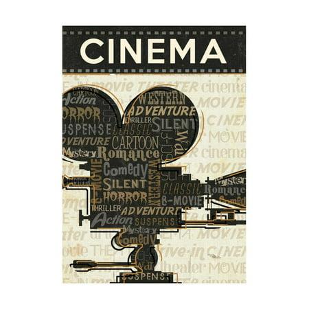 Wall Cinema (Cinema I Print Wall Art By Jess Aiken)