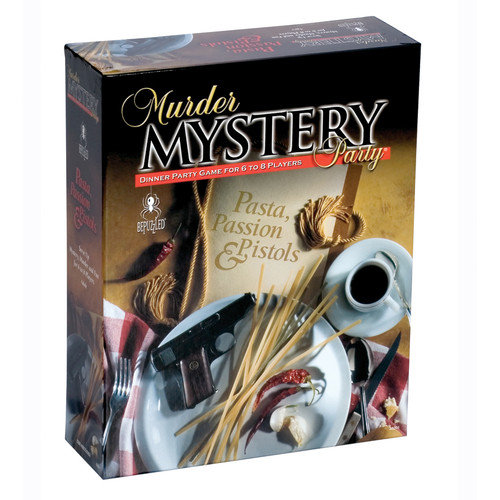 BePuzzled Pasta, Passion and Pistols Murder Mystery Party Game