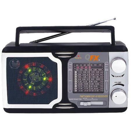 QFX R14 Retro Collection AM_FM_SW 1_9 Radio (Sw Radios)