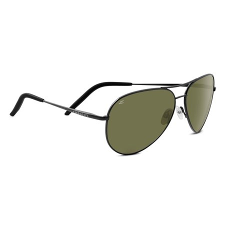 Carrara Polarized Sunglasses (Serengeti Aviator)
