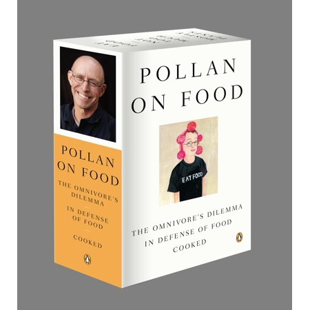 Omnivore Diet - Pollan on Food Boxed Set : The Omnivore's Dilemma; In Defense of Food; Cooked