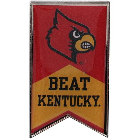 Louisville Cardinals Beat Kentucky Rivalry Banner Pin - No Size (Party City Louisville Kentucky)