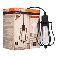 SYLVANIA Cage Pendant Light Fixture Kit, incl lightbulb