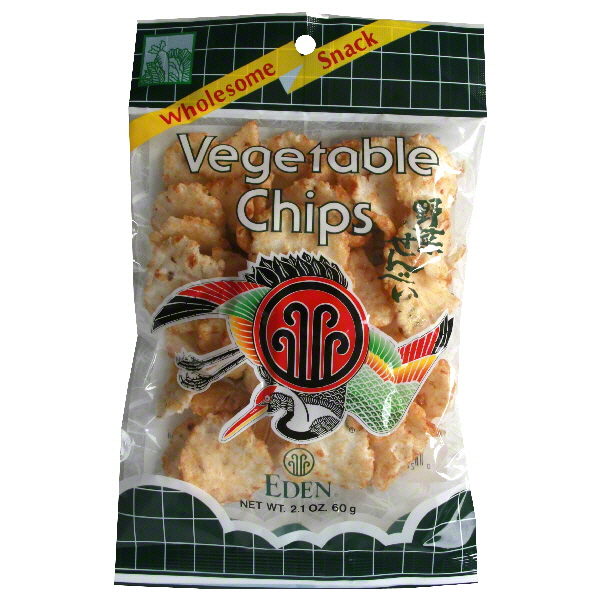 Eden Foods Vegetable Chips 2.1-Ounce (Pack of 20)