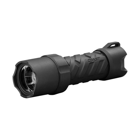 Polysteel 400 440 Lumen Waterproof Pure Beam Focusing LED Flashlight with Twist Focus and Stainless Steel Core, TWIST FOCUSING OPTIC: The simple Twist Focusing system.., By