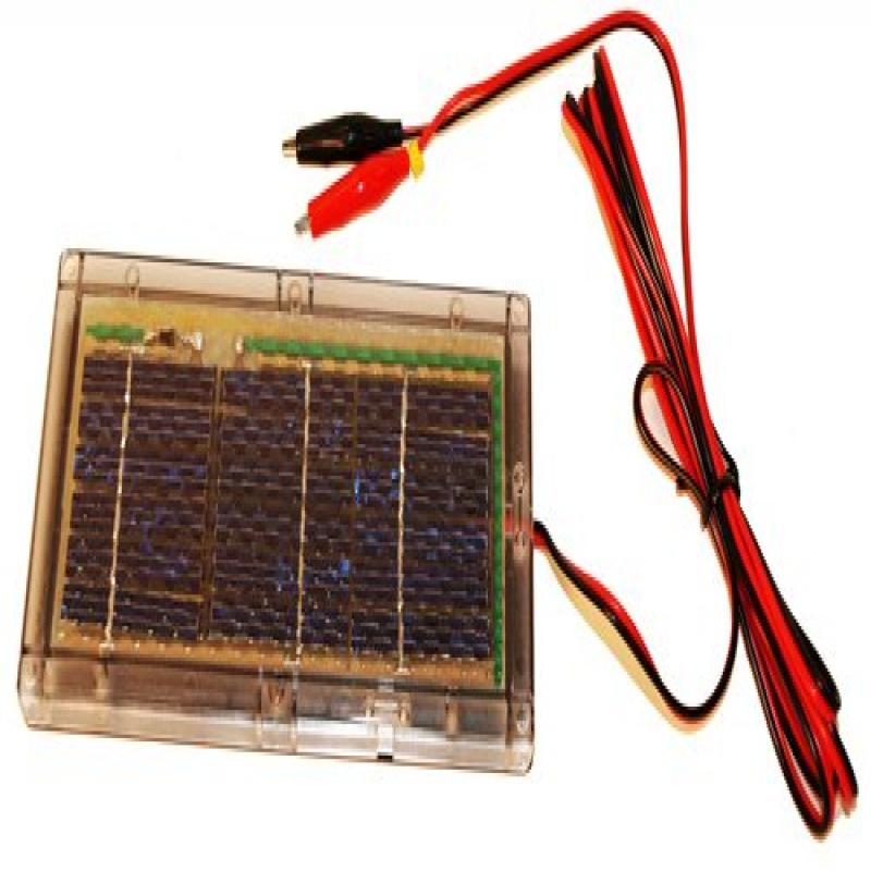 6-Volt Solar Panel Charger for 6V 12Ah APC AP250 Battery