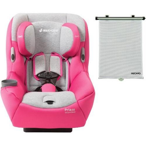 MAXI-COSI Pria 85 Convertible Car Seat with BONUS Retractable Window Sun Shade