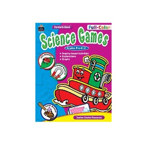 Teacher Created Resources Full-color Science Games Prek-k