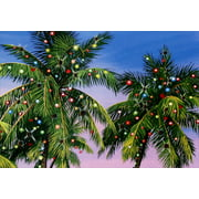 Red Farm Studios Palm Tree Lights Warm Weather Christmas Card ()