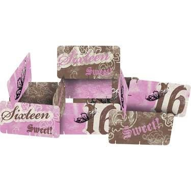 Sweet Sixteen Birthday 'Sweet 16' Party Centerpiece Decoration - Sweet Sixteen Centerpieces And Decorations