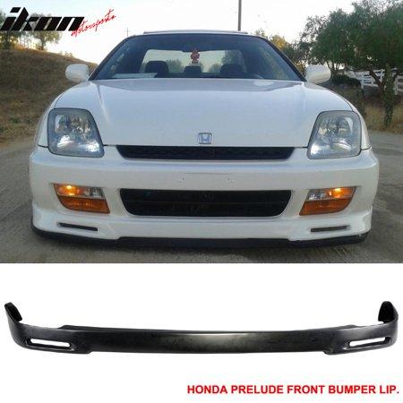Fits 92 96 Honda Prelude P1 Racing Urethane Front Bumper Lip PU Body Kit