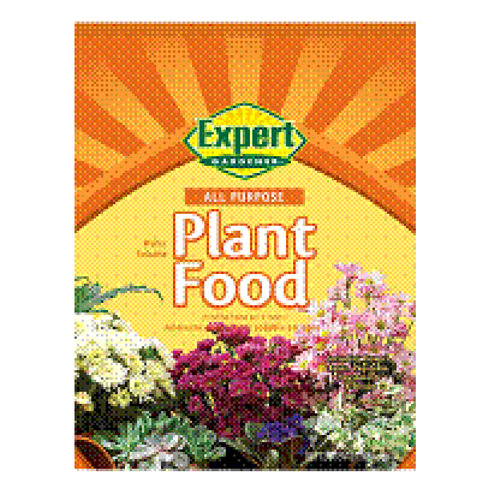 Expert Gardener All Purpose Water Soluble Plant Food, 1.5 lbs