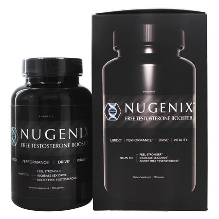 Nugenix Free Testosterone Booster, Test Booster, 90