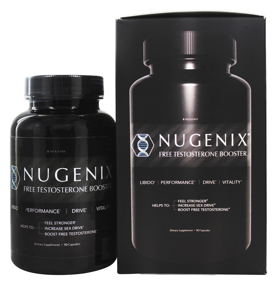 Nugenix Free Testosterone Booster, Test Booster, 90 Ct