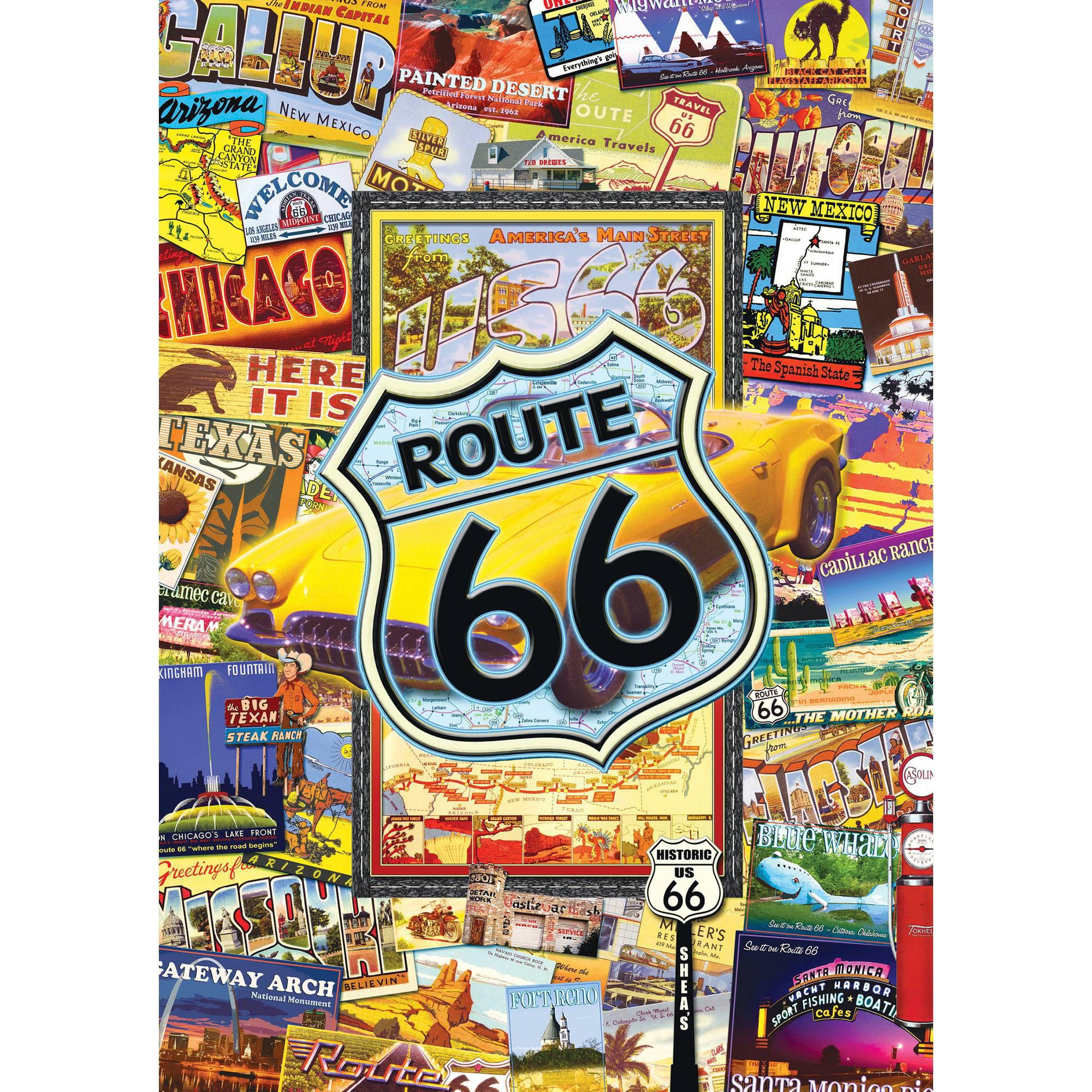MasterPieces Route 66 1000 Piece Puzzle 31527
