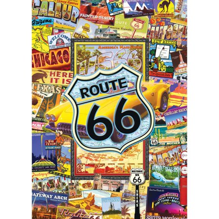 MasterPieces Route 66 1000 Piece Puzzle