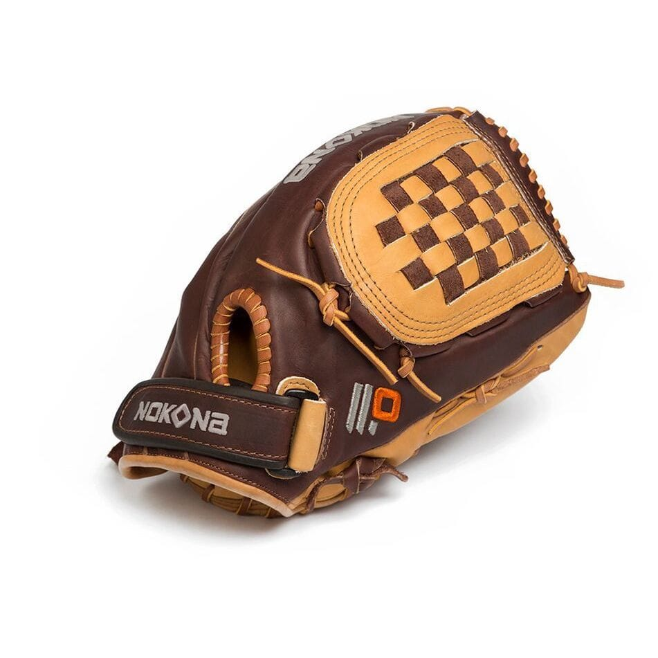 Nokona  Alpha Select 12-Inch Leather Baseball Fastpitch G...