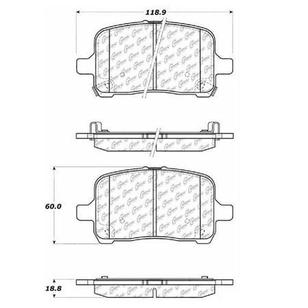 Go-Parts OE Replacement for 2004-2012 Chevrolet Malibu Front Disc Brake Pad Set for Chevrolet Malibu (Base / Classic LS / Hybrid / LS / LT / LTZ / Maxx / Maxx LS / Maxx LT) Chevrolet Malibu Brake Disc