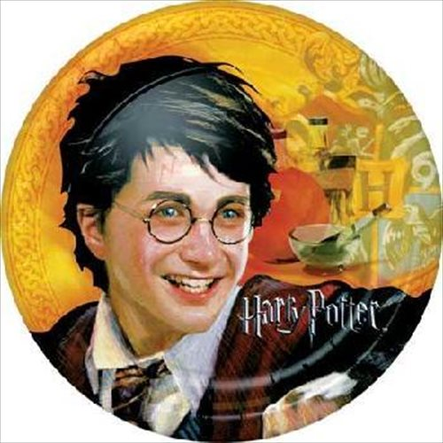 Harry Potter 'Goblet of Fire' Large Paper Plates (8ct)
