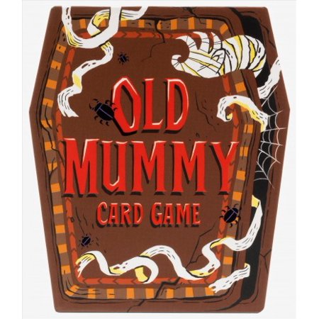 Halloween Preschool Games To Play (Old Mummy Card Game : (Spooky Mummy and Monster Playing Cards, Halloween Old Maid Card)